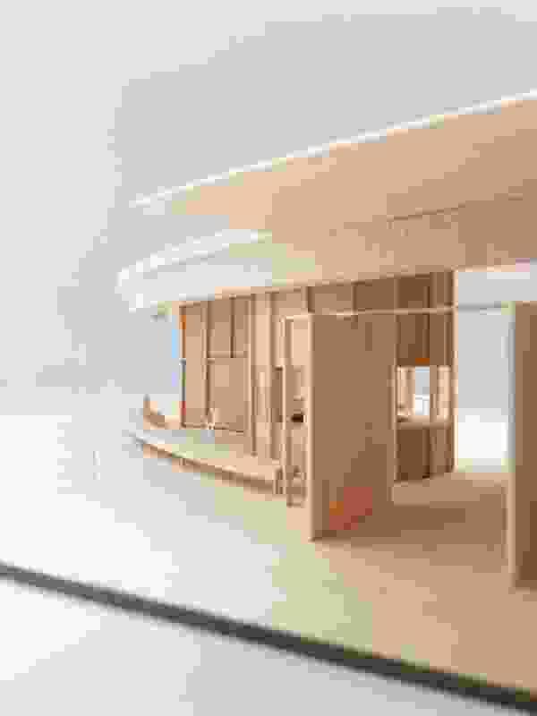 许多模型是建筑师在设计过程中制作的。