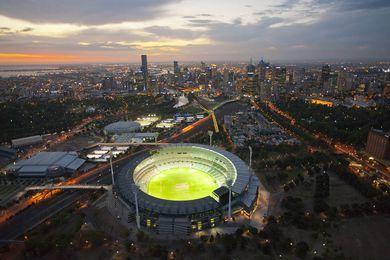 The Melbourne Cricket Ground (MCG).