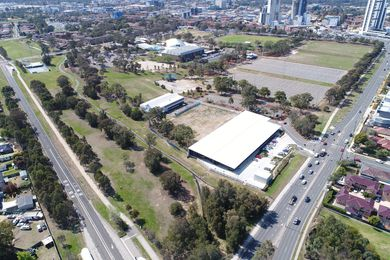 Woodward Park in Liverpool's CBD, Western Sydney.