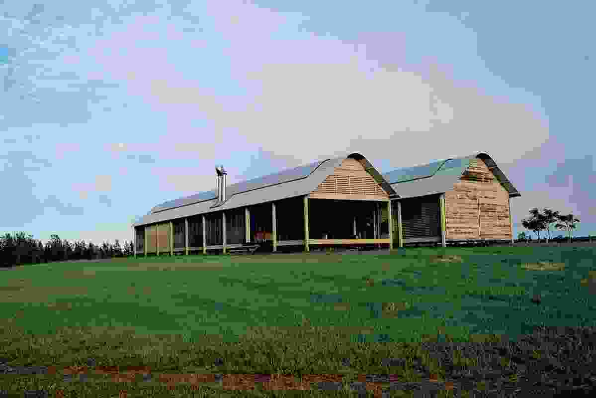The 2004 Award, Kempsey Farmhouse, Glenn Murcutt.