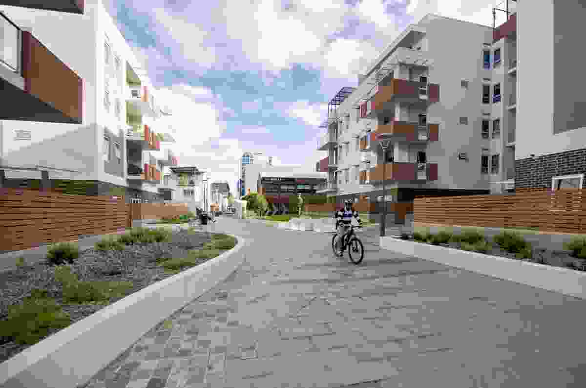 Ergo Apartments Public Realm by Tract Consultant.
