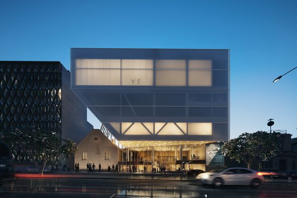 The Geelong Performing Arts Centre by Hassell.