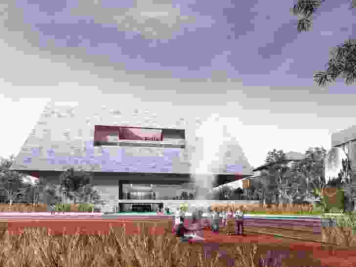 Proposal for Adelaide Contemporary by Adjaye Associates and BVN.