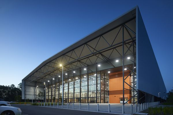 Coomera Sports and Leisure Centre by BDA Architecture with Peddle Thorp Architects (Melbourne).