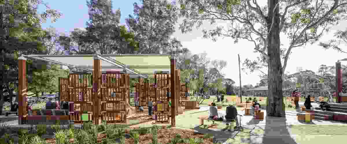 Paperbark Playspace by Phillips Marler and Parramatta Park and Western Sydney Parklands Trusts.