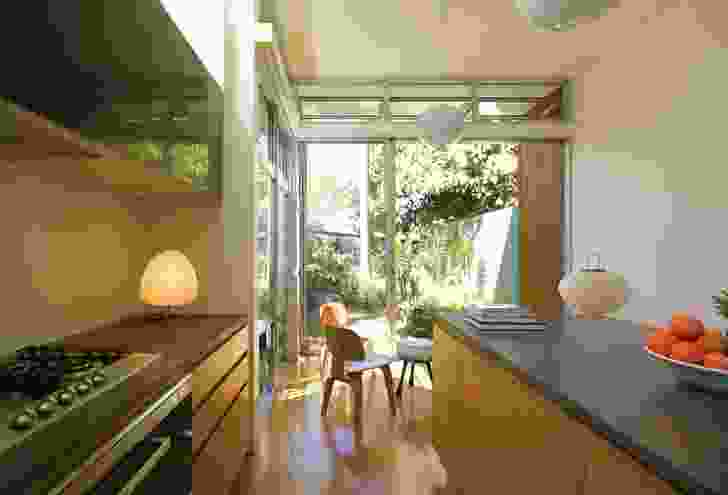 Conceptual design work for the kitchen was provided by the client, an interior designer.