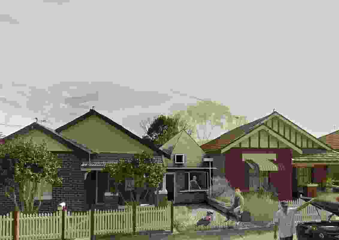 Manor houses winner: Madigan Architecture / University of South Australia.