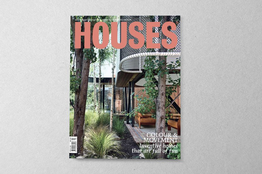 Houses 122. Cover project: King Bill by Austin Maynard Architects.