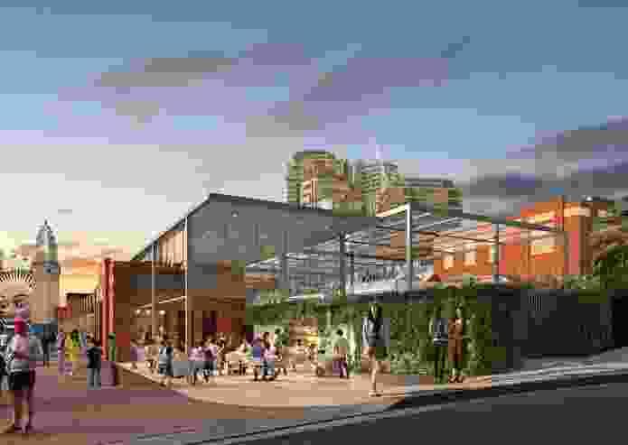 North Sydney Olympic Pool redevelopment by Brewster Hjorth Architects.