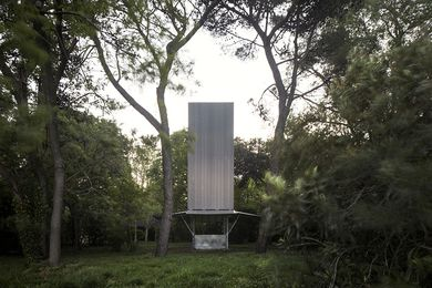 Sean Godsell Architects' chapel for the Pavilion of the Holy See at the 2018 Venice Architecture Biennale.