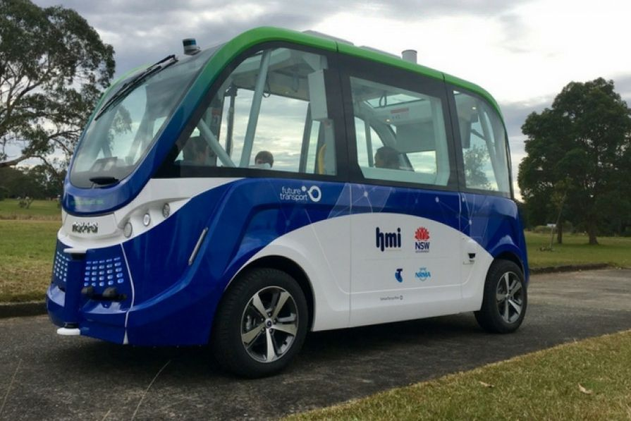 New South Wales' first driverless bus to enter service