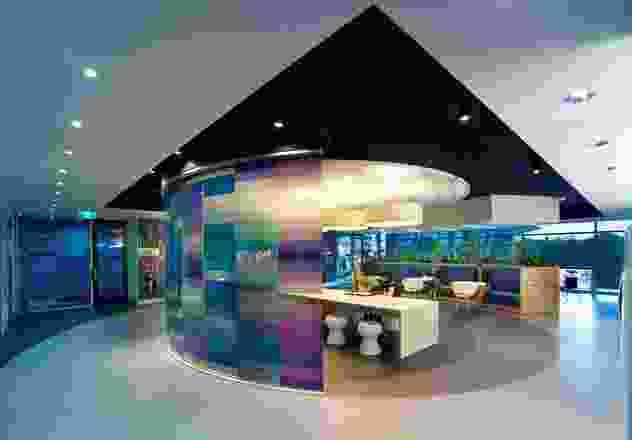 室内协作空间是对声波频谱的一种表示。