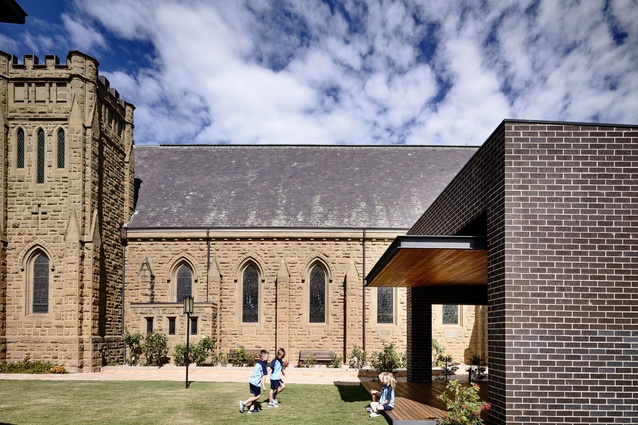 St Mary's Narthex by Matt Gibson Architecture and Design.