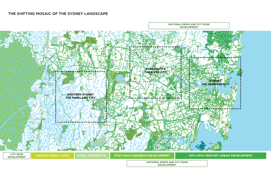 Greater Sydney Green Grid Spatial Framework and GIS Dataset by Tyrrell Studio in collaboration with Government Architect NSW