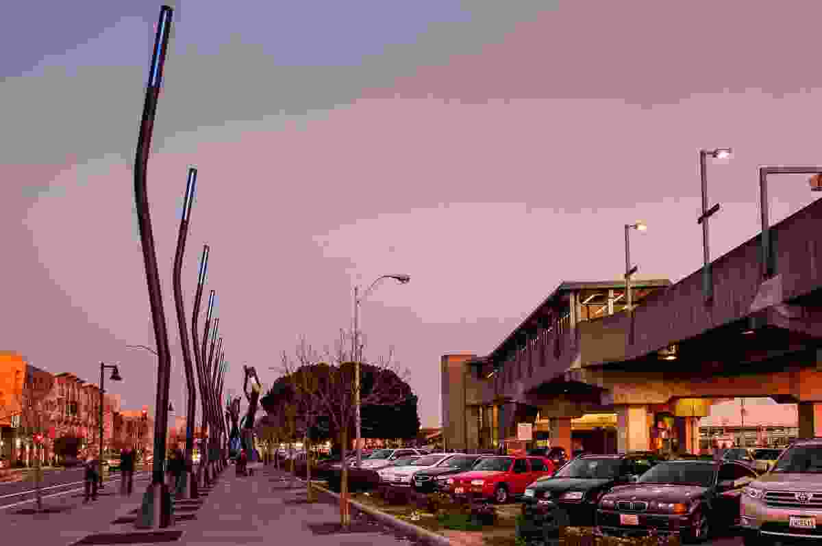 The 7th Street Gateway and public art project in Oakland, California aimed to create a destination that instills a sense of ownership among the West Oakland neighborhood.