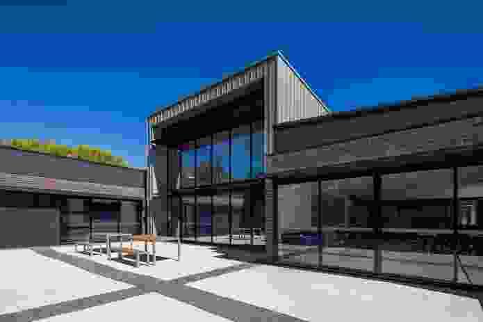 STEM Centre by Collins Caddaye Architects.