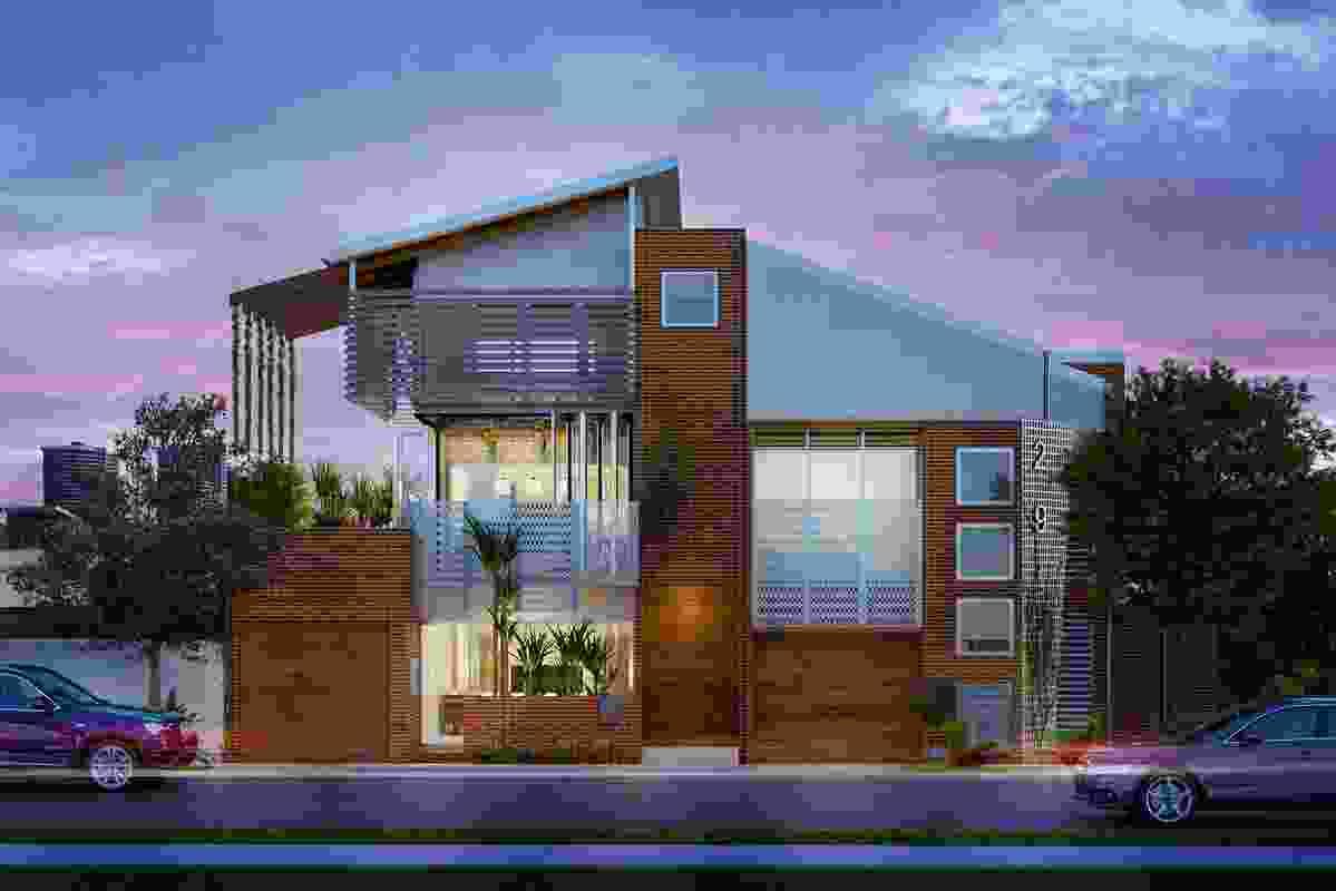 Envi Micro Urban Village by Degenhart Shedd.