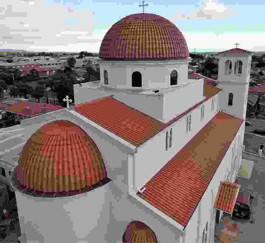 Parish of Saints Raphael, Nicholas and Irene Church by Loucas Zahos Architects.