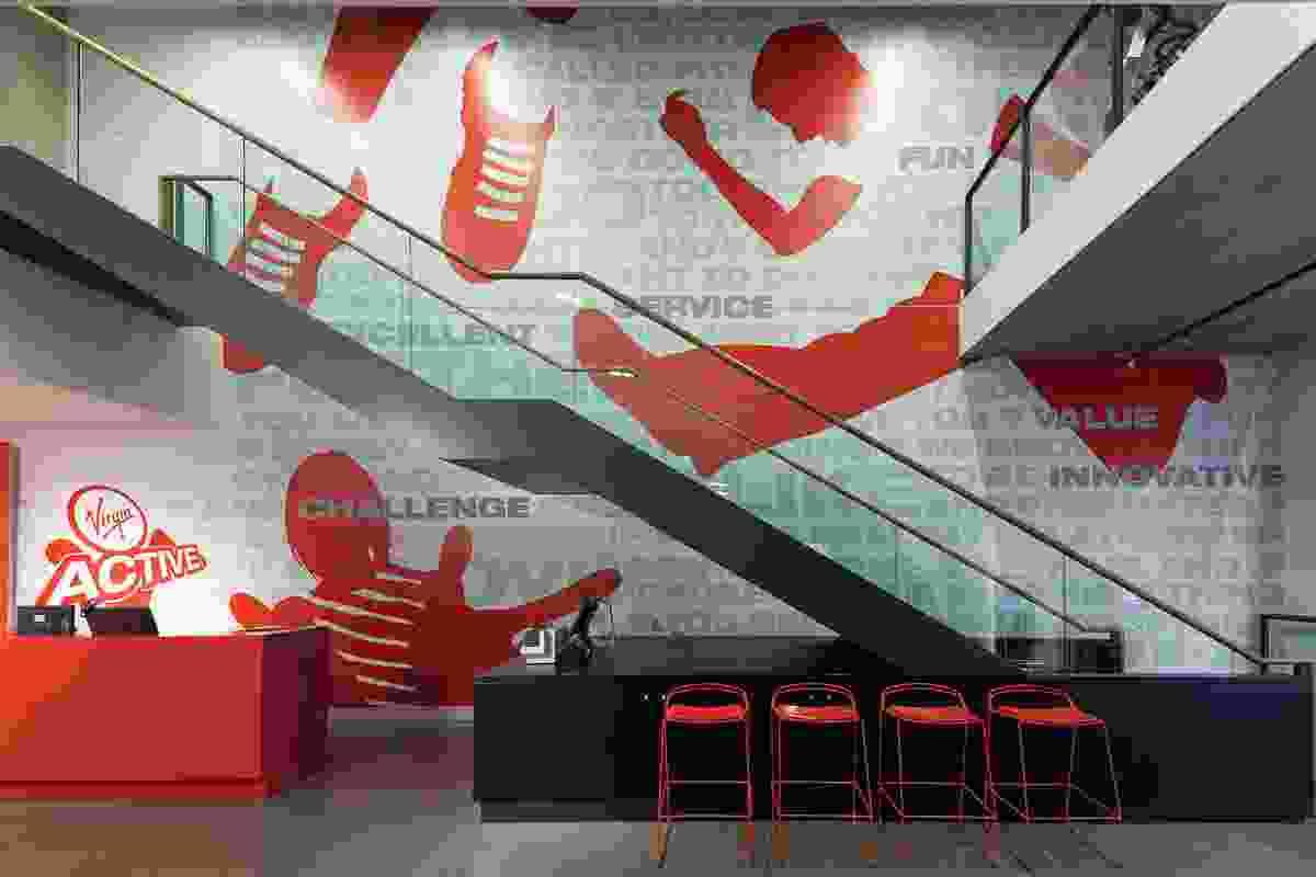 Retail Design – Virgin Active Pitt Street Mall by BVN Architecture.