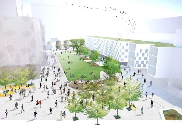 Aspect Studios' design for UTS's Alumni Green.
