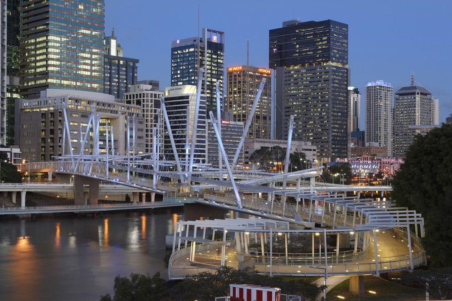 Kurilpa Bridge, Brisbane.