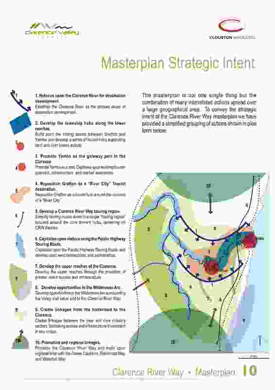 The Clarence River Way Masterplan.