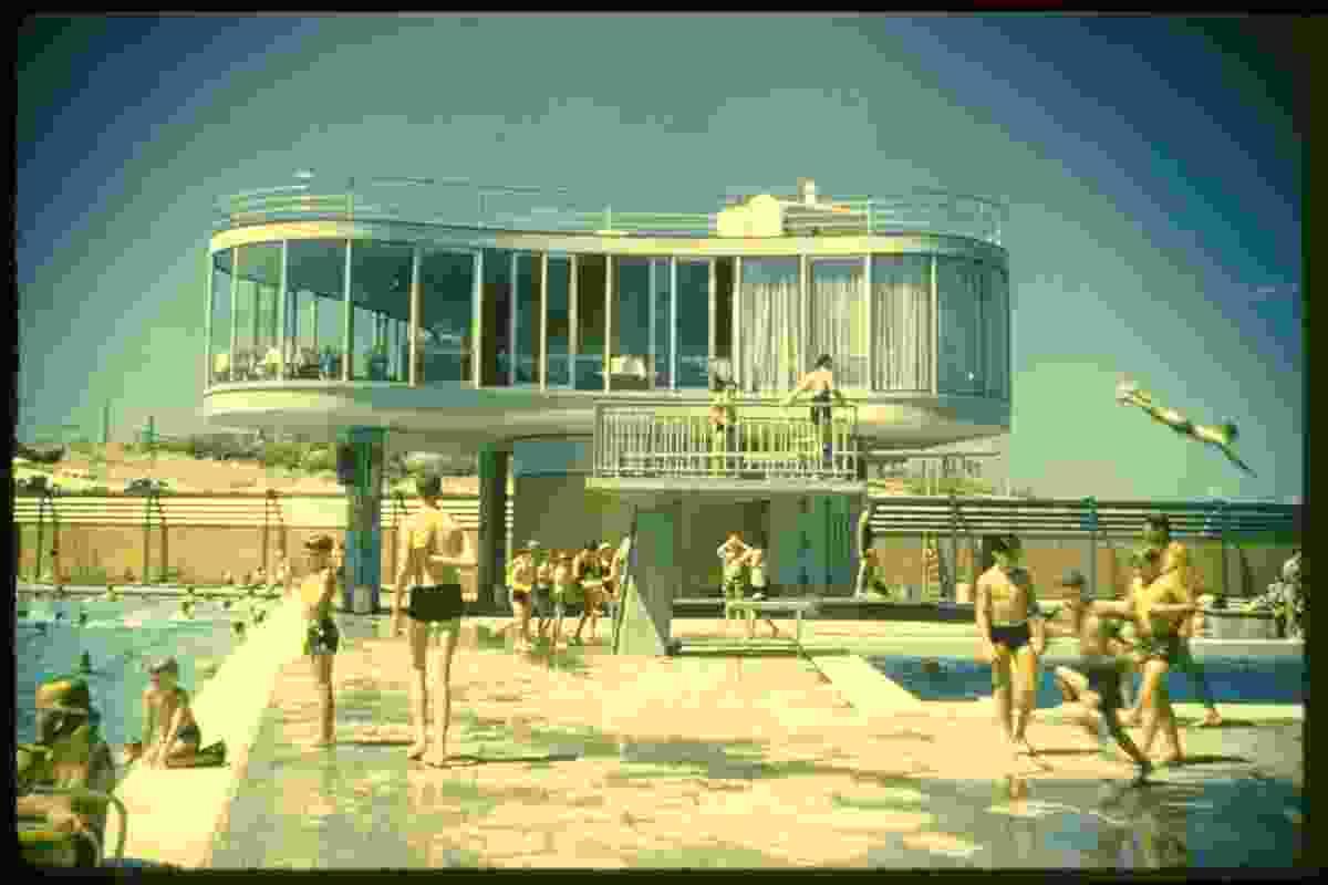 Centenary Pools by James Birrell.
