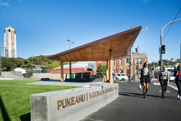 Pukeahu Memorial, Wraight Athfield Landscape + Architecture.
