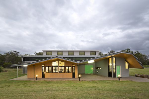 Burnett Youth Learning Centre Trade & Technologies Building by Medek Architecture.