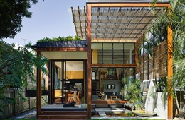 Light in spades: Garden House