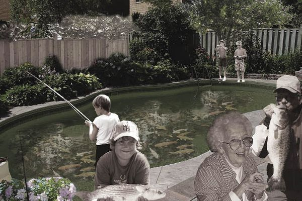Swimming pool aquaculture might yield a sustainable solution for the suburbs.