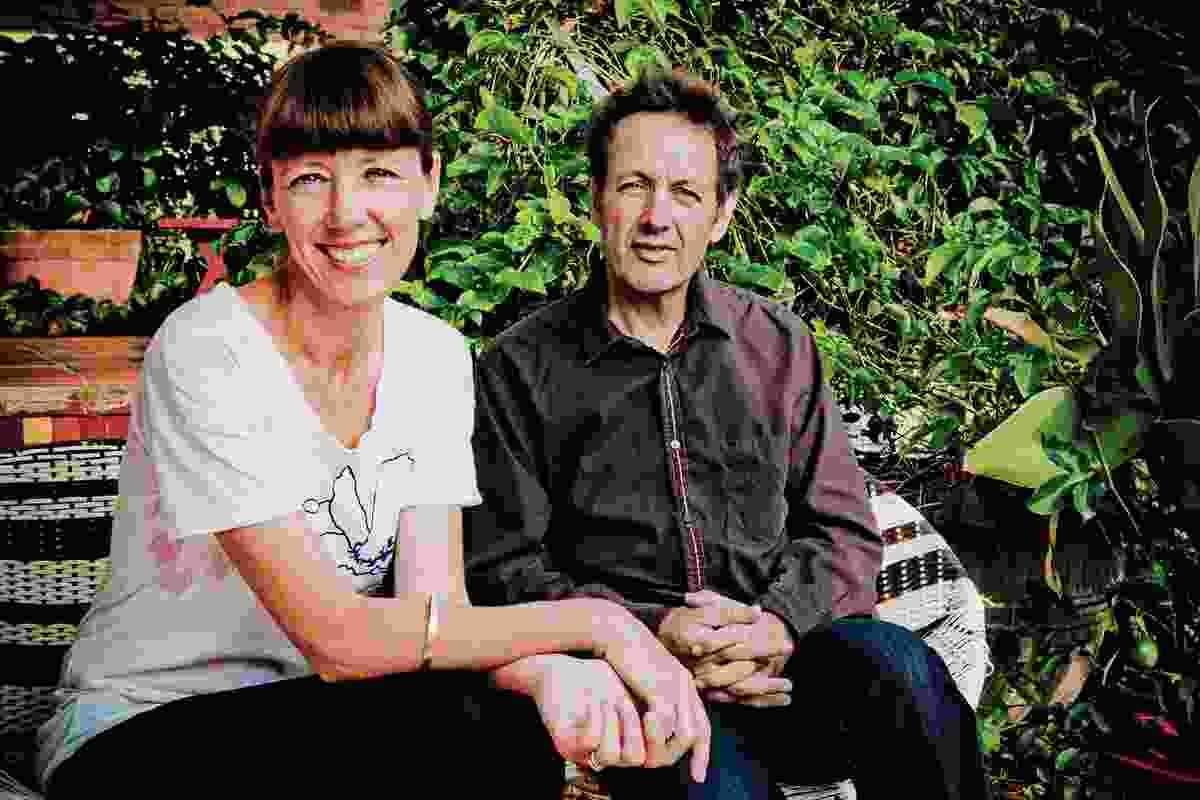 Rachel Neeson and Nick Murcutt of Neeson Murcutt Architects.