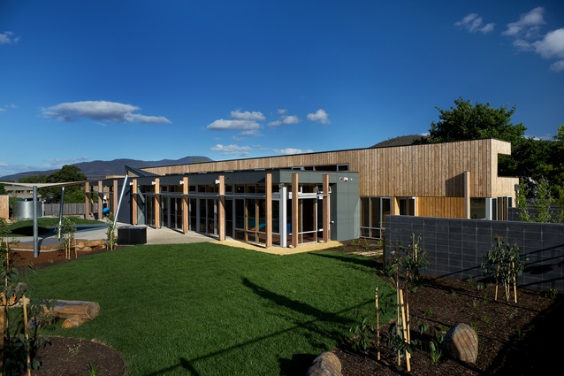 Ptunarra Child and Family Centre by Morrison & Breytenbach Architects.