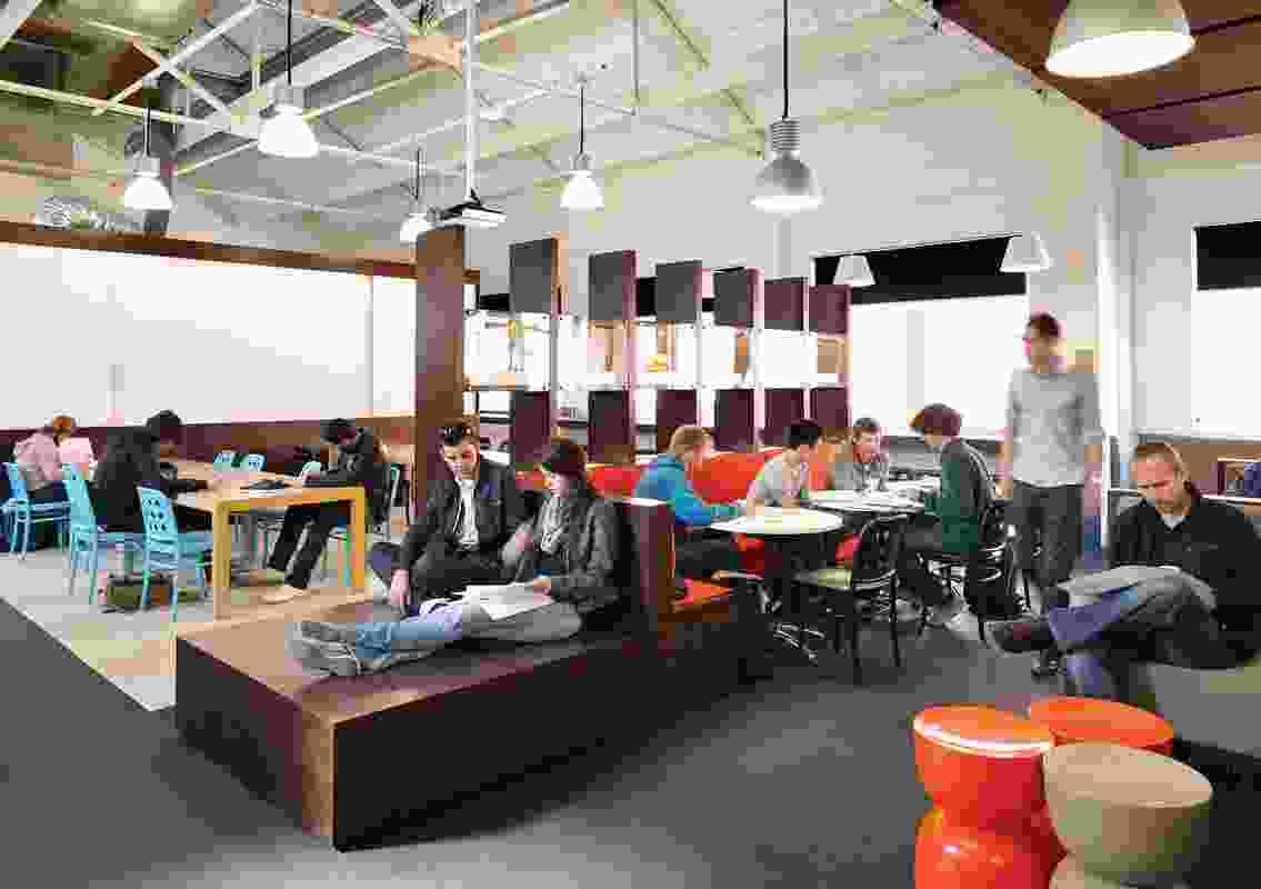 Colour in Commercial Design – Mawson Laboratories by BVN Architecture.
