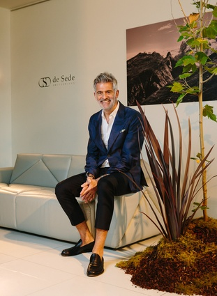Alfredo Häberli shared highlights from his diverse portfolio of work at the Domo showroom in Sandringham.