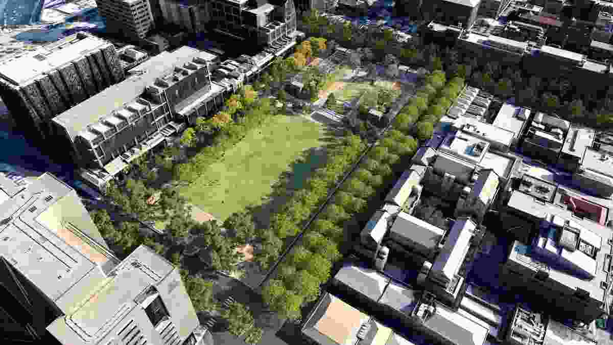 Concept design for the proposed University Square redevelopment.