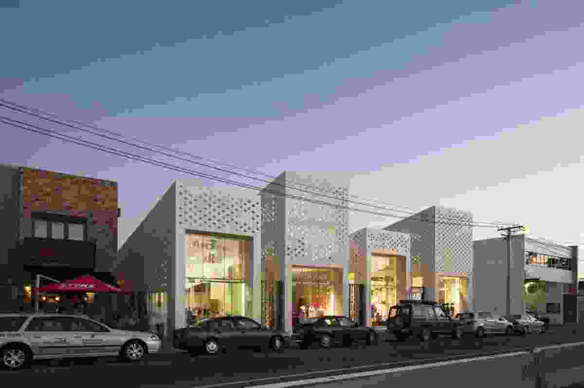 Hospitality and Retail category finalist: Mackelvie Street Shopping Precinct, Auckland by RTA Studio.