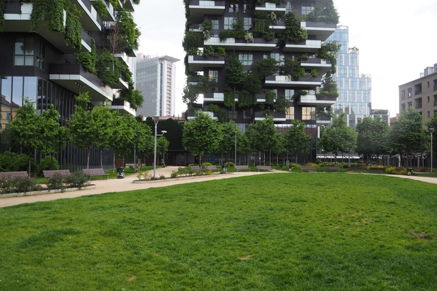 The new Porta Nuova district in Milan.