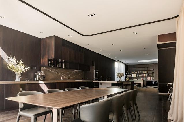 Swanston Street House by Robert Simeoni Architects.