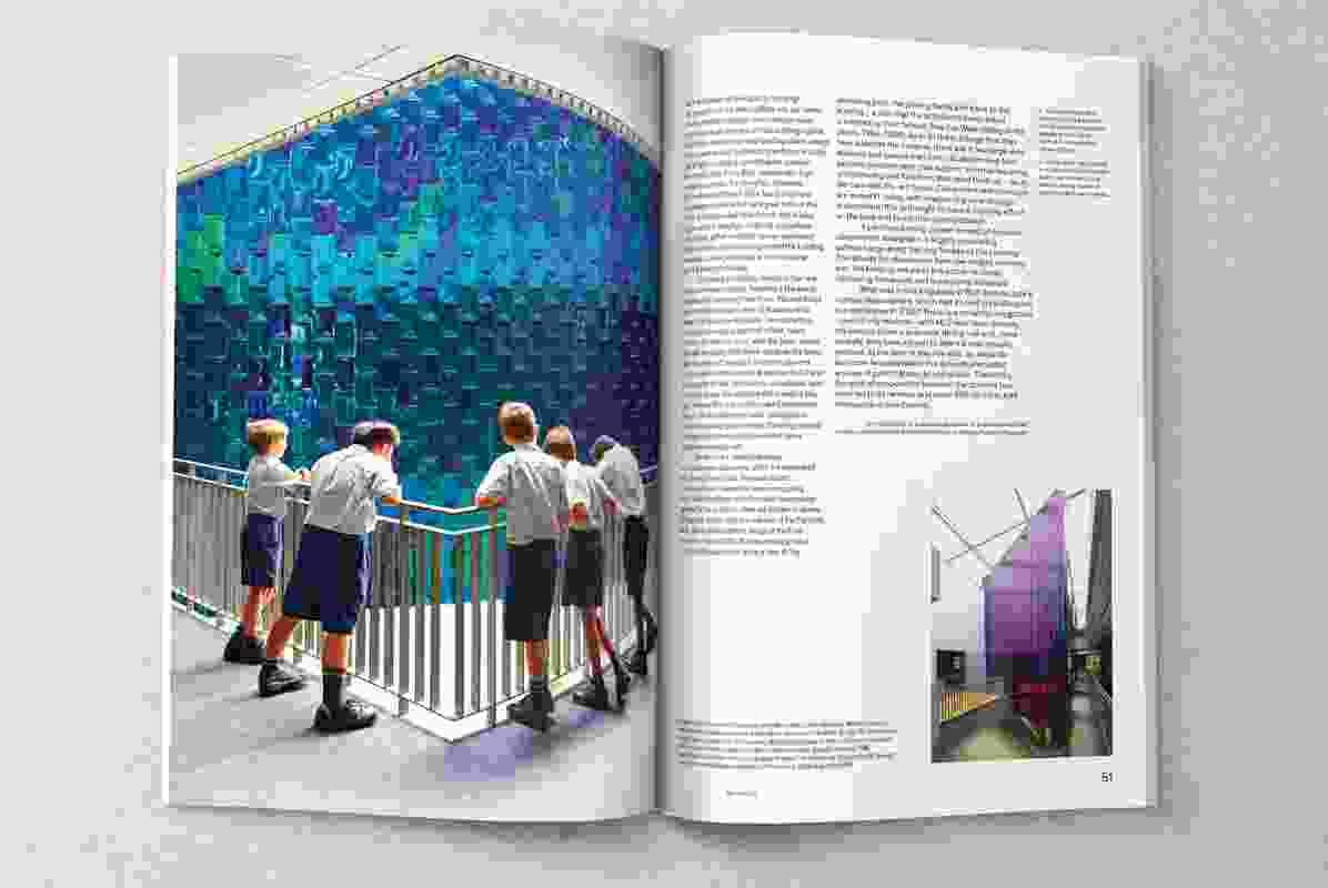 Christ Church Grammar Preparatory School by With Architecture Studio
