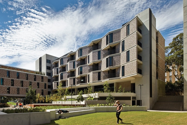 UNSW Kensington Colleges (NSW) by Bates Smart.