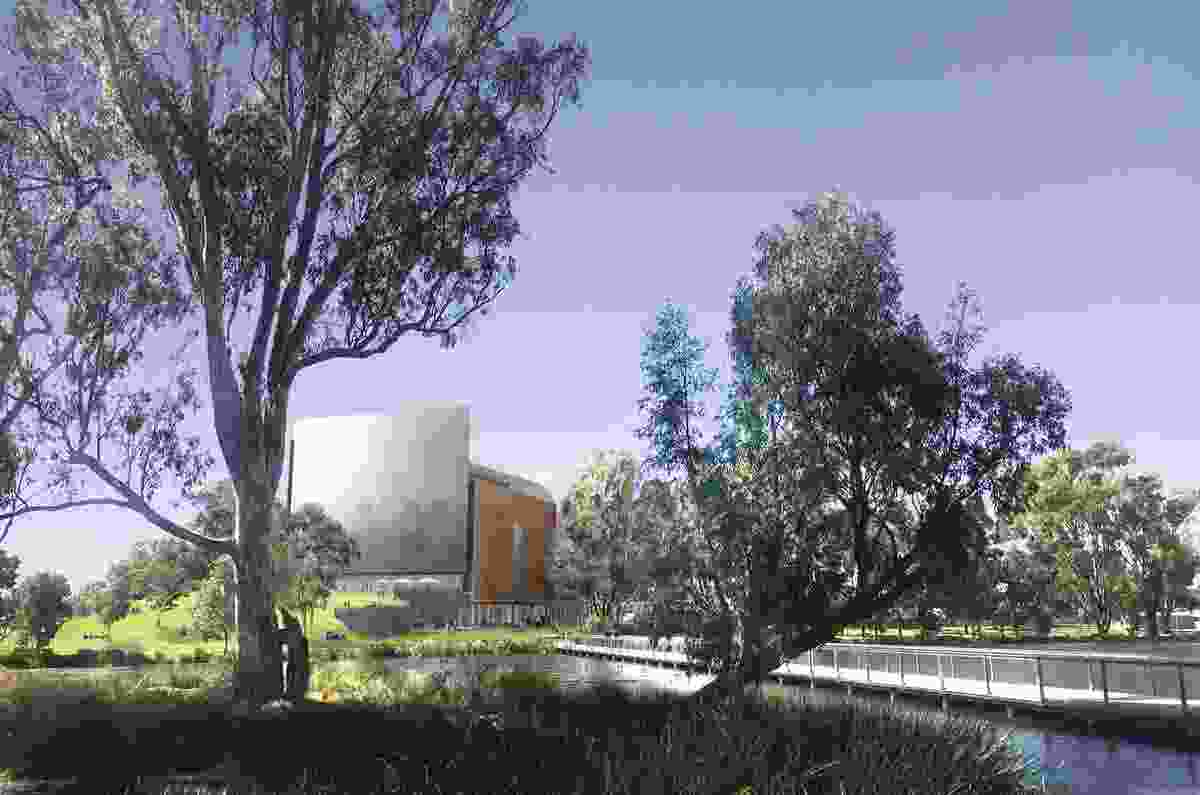 In 2017, a design competition was held for a new Shepparton Art Museum in regional Victoria. The winning design, by Denton Corker Marshall, is due to commence construction in 2019.