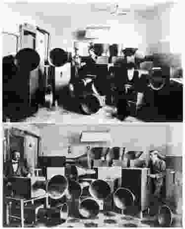 Luigi Russolo's Intonarumori (1917).