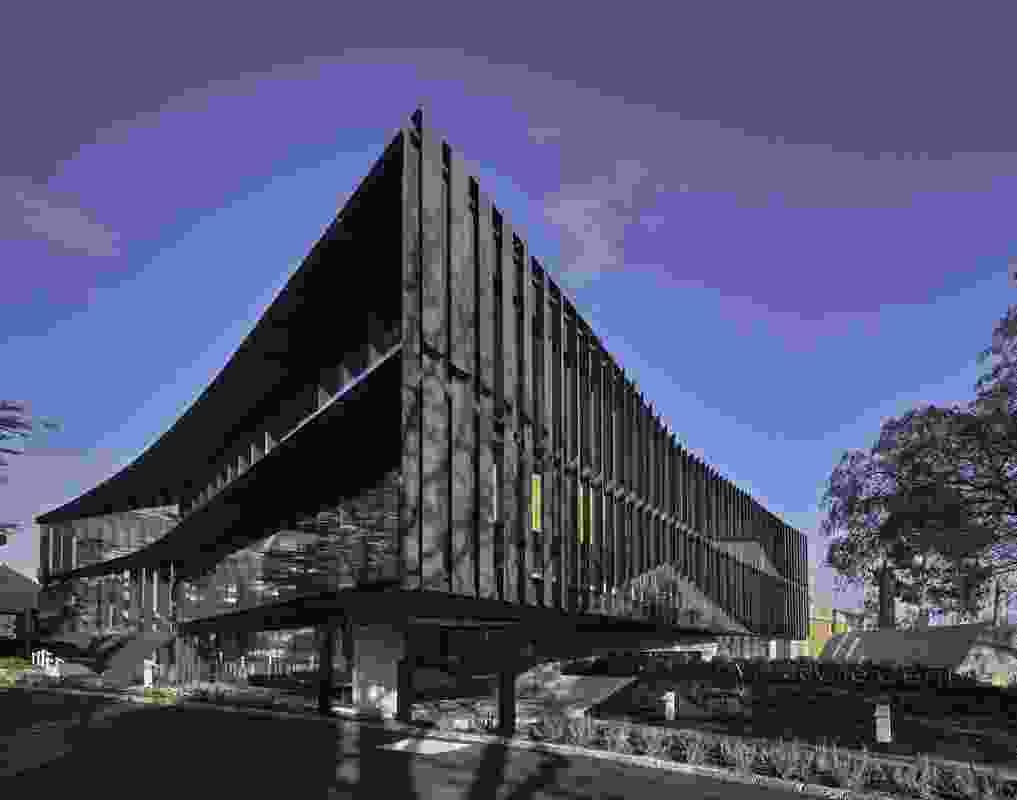 The Mandeville Centre by Architectus.