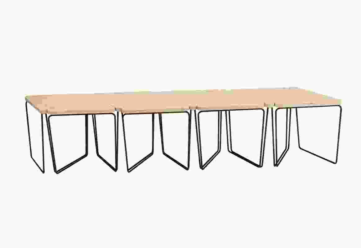 Fractal table, from DesignByThem, offers multiple configurations.