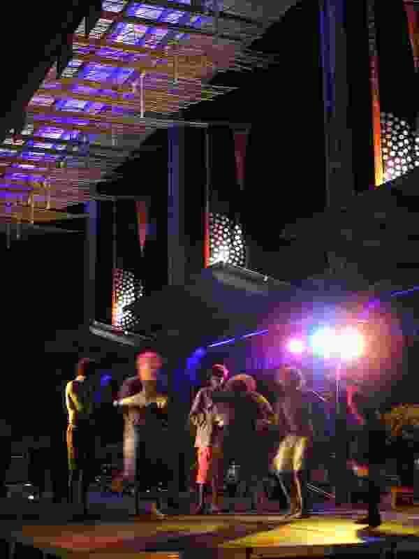 Darwin Entertainment Centre forecourt, Darwin, NT, 2006.
