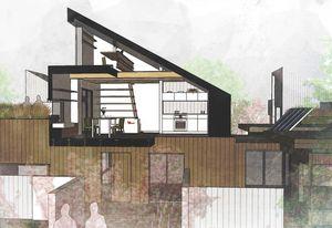 First prize: Hi House by Melinda Dodson.