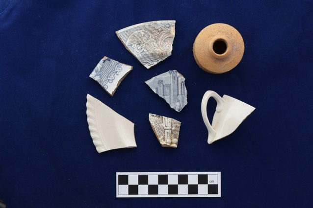 The artefacts found will become part of Heritage Victoria's collection.
