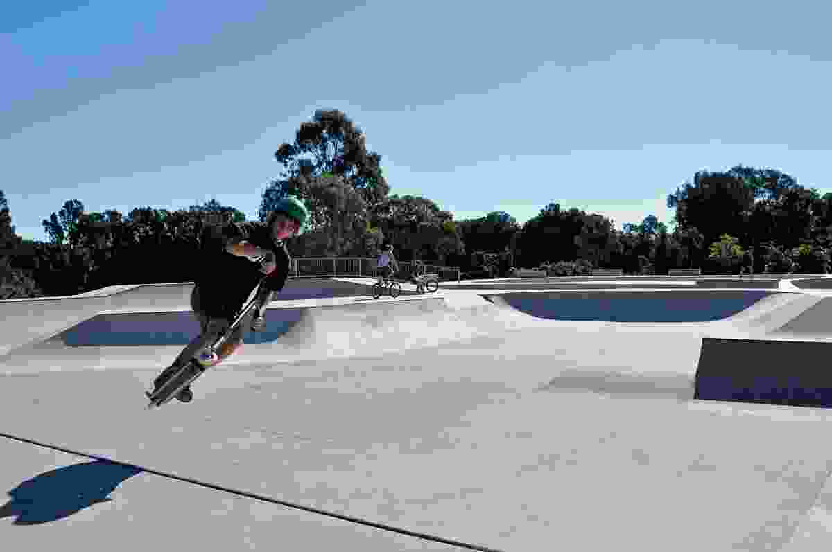 Pizzey Park Community Skate Park submitted by Complete Urban.
