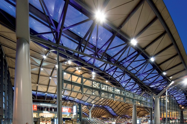 Southern Cross Station by Grimshaw Jackson.